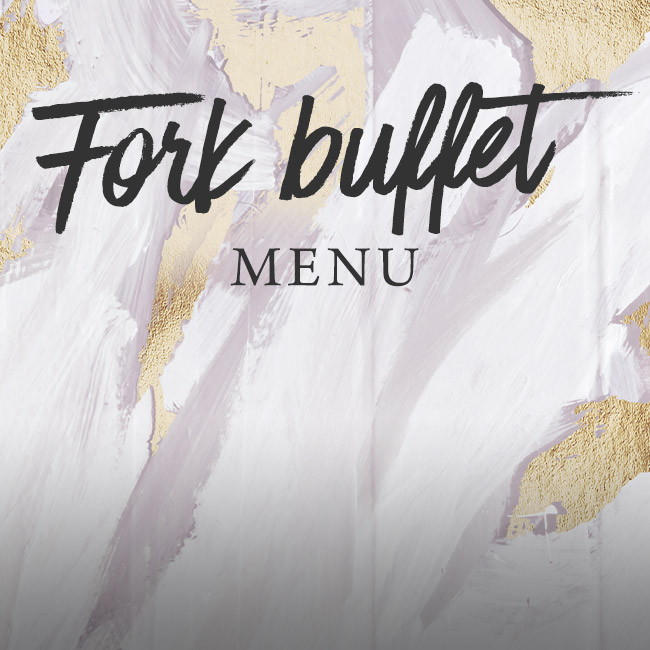 Fork buffet menu at The Bell