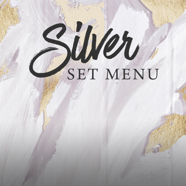Silver set menu at The Bell