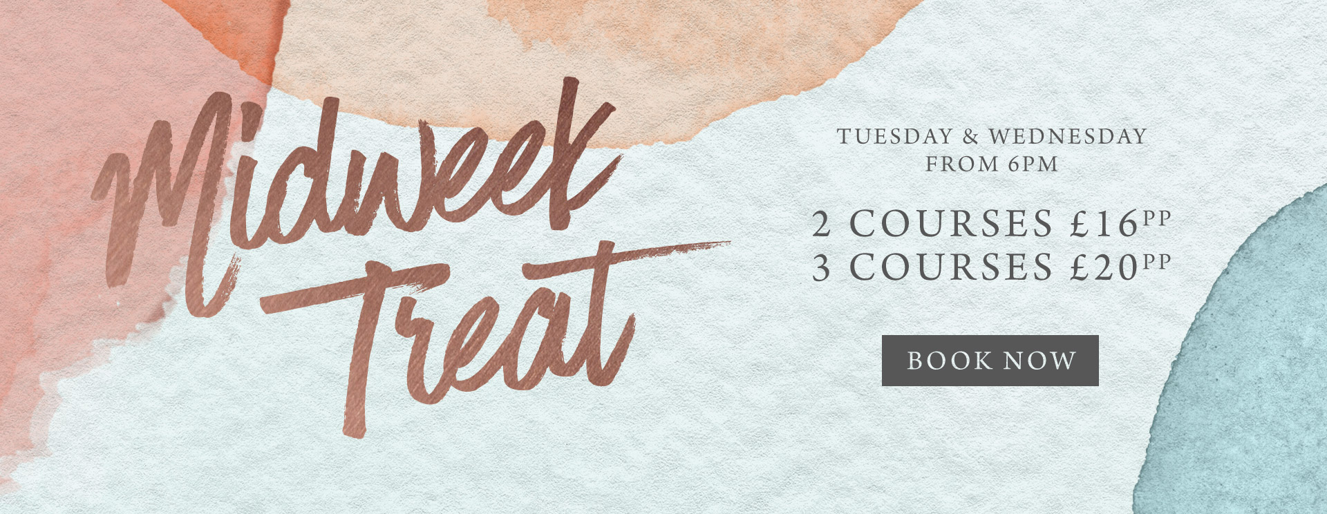 Midweek treat at The Bell - Book now